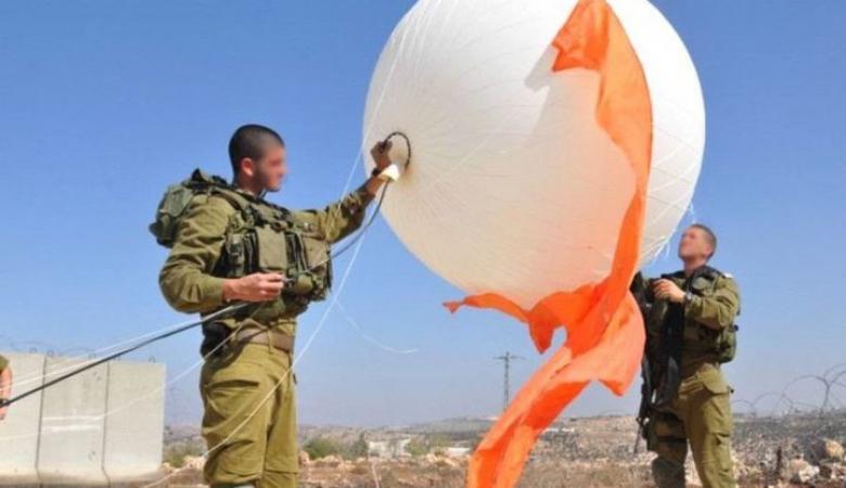 الاحتلال يطلق منطاد مراقبة فوق بلدة الخضر جنوب بيت لحم