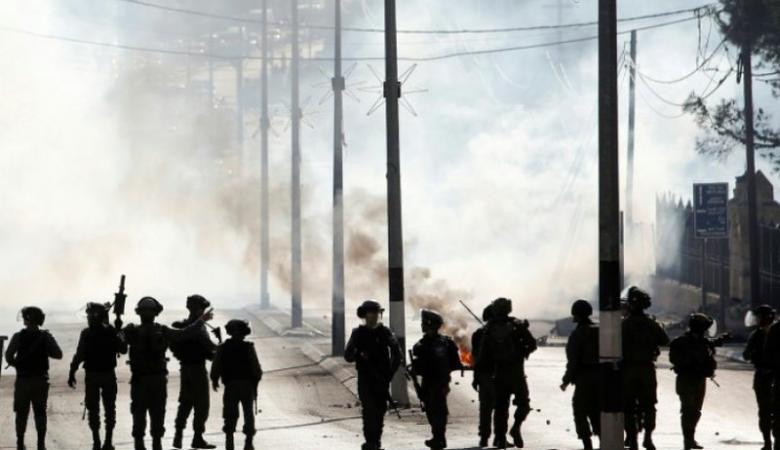 إصابات واعتقال شاب خلال قمع الاحتلال فعالية منددة بالاستيطان في الخليل