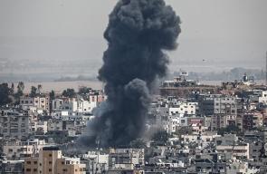 غزة تتعرض لقصف اسرائيلي مكثف لليوم الثاني على التوالي