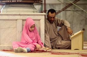 اجواء المسجد الأقصى في رمضان
