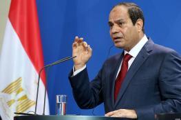 """السيسي للجيش : امامكم """"90 """" يوماً لاستعادة الامن في سيناء"""