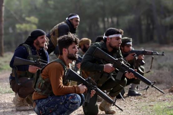 قتلى وجرحى في اشتباكات بين فصائل المعارضة السورية في عفرين