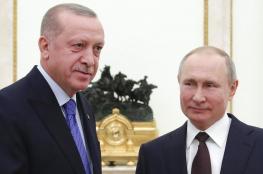بوتين واردوغان يتوصلان لاتفاق وقف اطلاق النار في ادلب