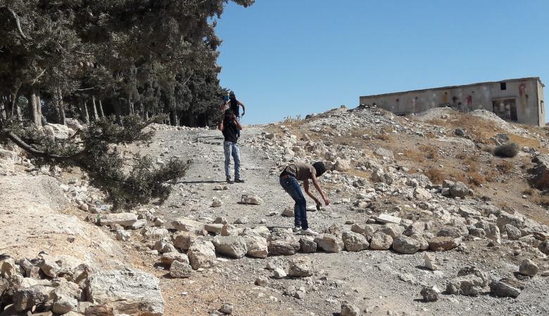 اصابة شاب في مواجهات مع الاحتلال ببلدة تقوع شرق بيت لحم