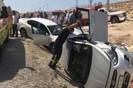 6 إصابات في ثلاثة حوادث سير منفصلة في جنين