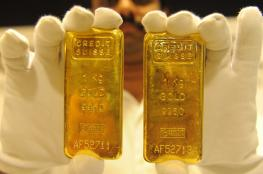 الذهب يتراجع من أعلى مستوى في شهر
