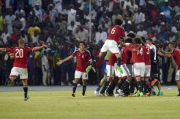 مصر على بعد خطوة واحدة من التأهل لكأس العالم