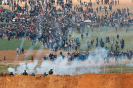 مسيرات في غزة ترفض ضم الضفة  الغربية