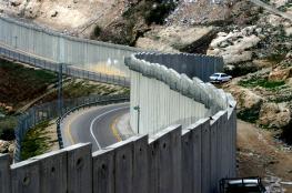 استكمال بناء جدار الفصل العنصري غرب بيت لحم