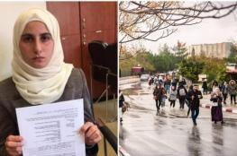 الاحتلال يبعد طالبتين عن جامعة بيرزيت