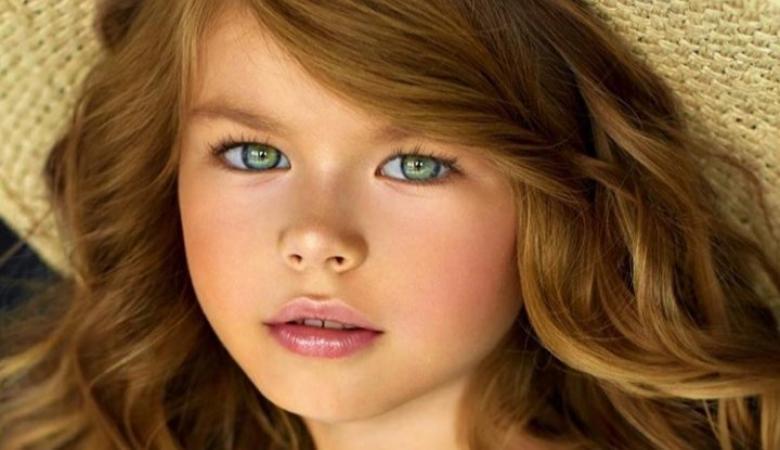 بالصور.. طفلة روسية تصبح الأجمل في العالم