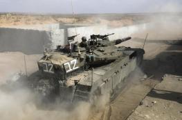 الجيش الاسرائيلي يتدرب على اخلاء مستوطنات غلاف غزة