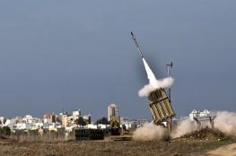بالفيديو: إطلاق وابل من صواريخ القبة الحديدية