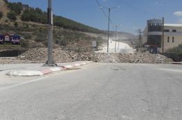الاحتلال يغلق مداخل طولكرم وعدد من قراها