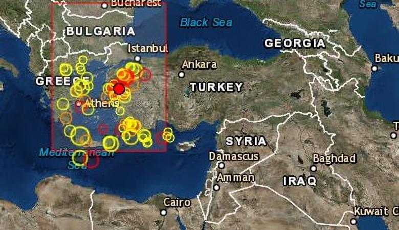 فلسطين وتركيا تتعرضان لهزات أرضية متزامنة