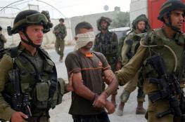 الاحتلال يعتقل (18) مواطنا من الضفة الغربية