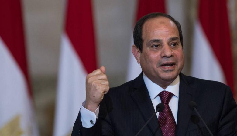 السيسي :  مصر تقاتل الإرهاب بالنيابة عن العالم أجمع