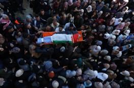 الآلاف يشيعون جثماني الشهيدين ابو طبيخ وبدوان في جنين