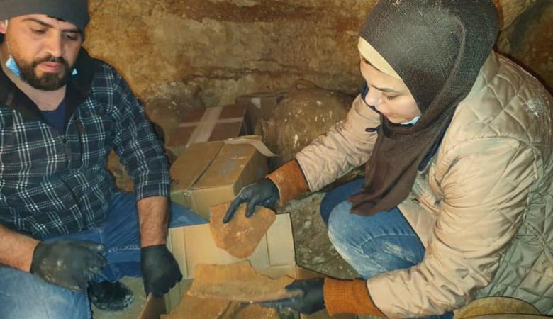 وزارة السياحة تعلن العثور على كنز أثري تعود للعصر البرونزي