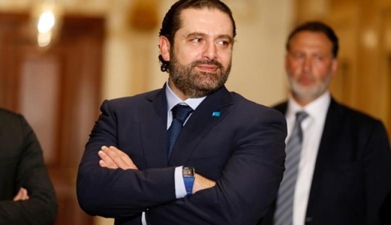 الحريري يطالب بضبط النفس وعدم الانجرار الى مواجهة مع اسرائيل