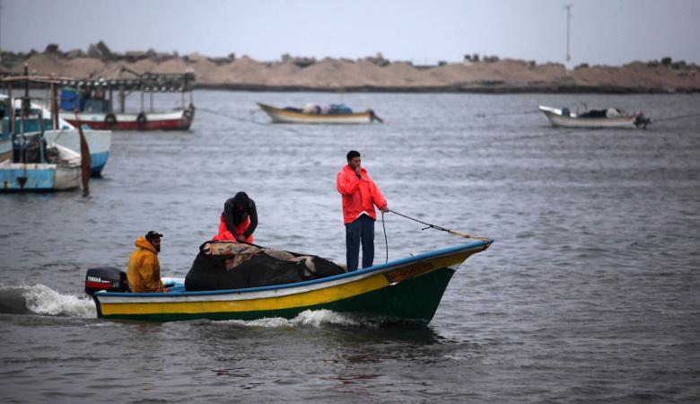 وفاة صياد في عرض بحر غزة