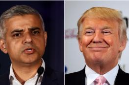 عمدة لندن يرفض زيارة ترامب لبريطانيا ويصفه بالمخطئ