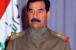 صدام حسين يغضب سكان أحد أحياء لندن (صورة)