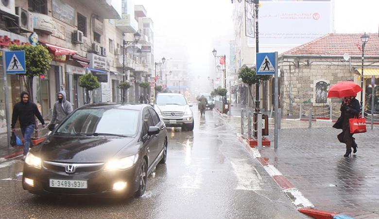 حالة الطقس : منخفض جوي بارد محمل بالأمطار والعواصف الرعدية
