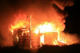 سيدة تحرق محلا في اريحا لبيعه بضاعة غير مطابقة للمواصفات