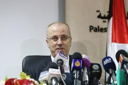 رئيس الوزراء : حماس تتحمل المسؤولية الكاملة في قضية الكهرباء