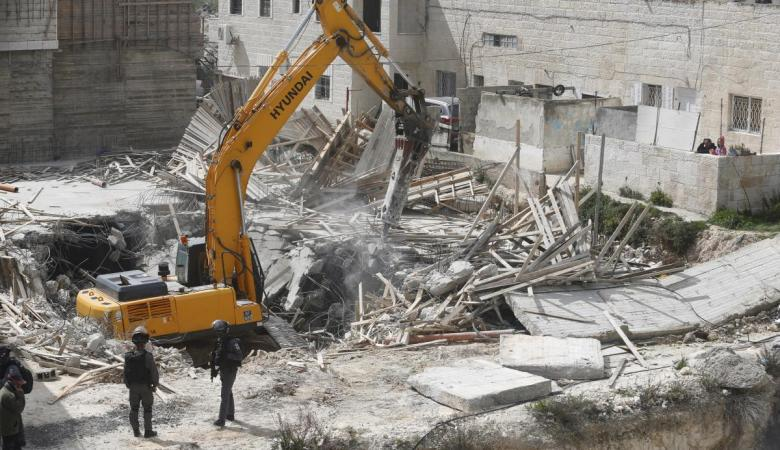 الخارجية تشجب مصادقة الاحتلال على هدم عشرات المنازل في القدس