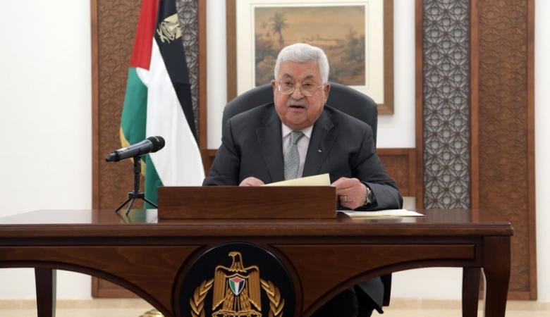 الرئيس يطالب بمحاسبة اسرائيل على جرائمها بحق الشعب الفلسطيني
