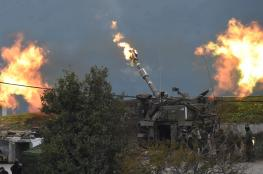 الجيش الاسرائيلي يقصف موقعاً للجيش السوري في منقطة القنيطرة