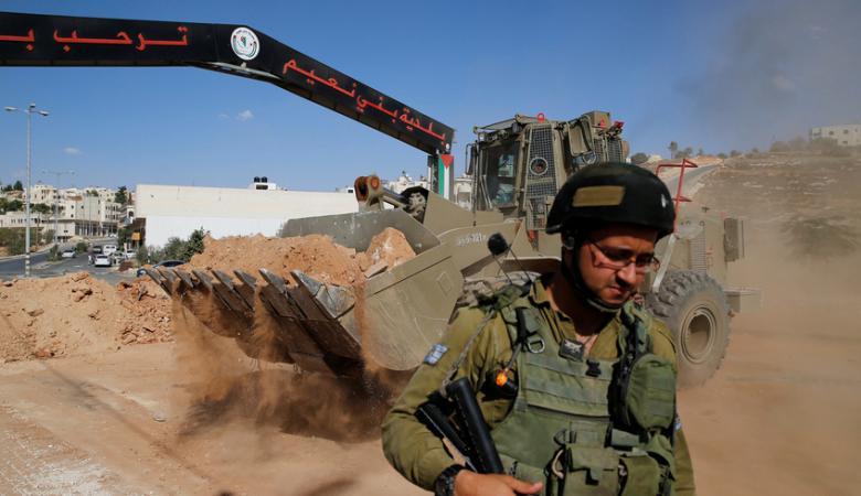 """الاحتلال يعلن مصادرة """"4800"""" دونم من اراضي الخليل"""