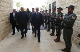 الحمد الله : اجهزة الامن الفلسطينية هي صمام الامان والشرعية المتبقية لنا