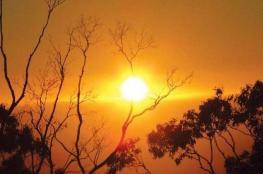 حالة الطقس: درجات الحرارة أعلى من معدلها بحدود 6 درجات