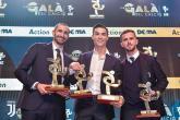 رونالدو يكتفي بجائزة محلية في ليلة تتويج ميسي بالكرة الذهبية