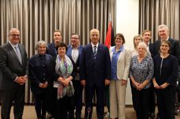 الحمد الله يطلب من استراليا بضرورة الاعتراف بفلسطين