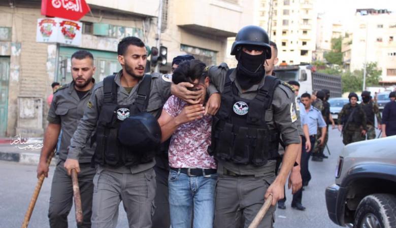 """الاجهزة الأمنية تتصدى لعناصر حزب """"التحرير """" خلال محاولتهم اداء صلاة العيد"""