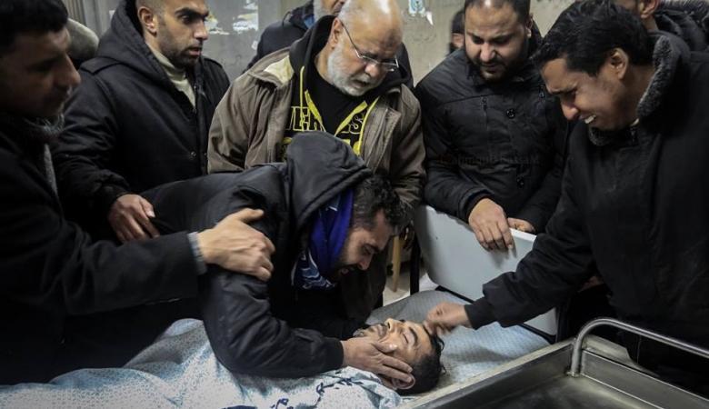 استشهاد شرطي ومواطن بعد استهداف نفق جنوب قطاع غزة