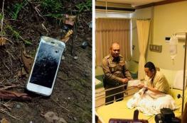 هاتف آيفون ينقذ شرطي من الموت بعد اشتباك مسلح