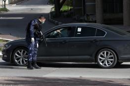 نابلس: احتجاز 12 مواطنا لعدم التزامهم بتعليمات الحجر الصحي المنزلي