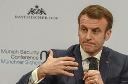 الرئيس الفرنسي: نحن فقط في بداية هذا الوباء