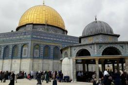 احياء ذكرى المولد النبوي الشريف في المسجد الأقصى