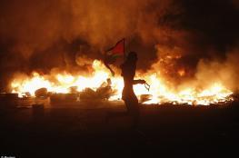 اصابة شاب بجراح في مواجهات مع الاحتلال جتوب شرق بيت لحم