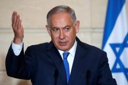 نتنياهو يتوعد سوريا برد حازم وقوي