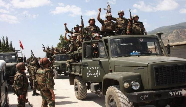 """الجيش السوري يقترب من """"خان شيخون"""" جنوب ادلب"""