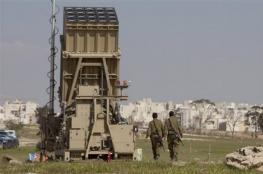 """الاحتلال ينشر منظومة """" القبة الحديدية """" في مستوطنات غلاف غزة"""