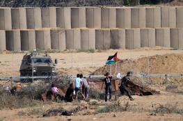 46 اصابة في قمع الاحتلال لمسيرة العودة شرق غزة