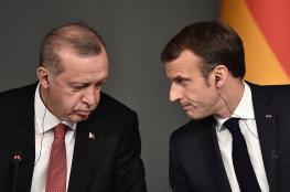 "اردوغان عن فرنسا : "" كل ما فيها يحترق وينهار """